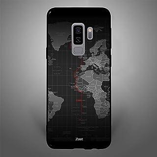 Samsung Galaxy S9 Plus Ocean Borders, Zoot Designer Phone Covers