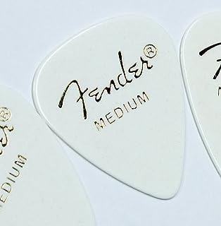 Fender ピック×20枚 ティアドロップ MEDIUM-WHT