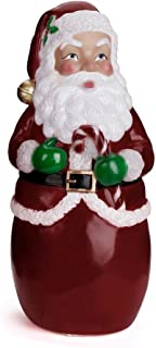 Happy echo Santa Claus Decoration Lighted,Christmas Holiday Indoor Outdoor Yard Party Decoration Santa Claus Statue LED Lighted Decoration(with 3 Batteries)