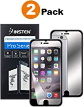 Insten [2 Pack] Premium Mirror Anti-Scratch LCD Screen Protector, Bubble Free HD Film No Rainbow Effect Shield Guard Compatible with Apple iPhone 8 Plus / 7 Plus (5.5
