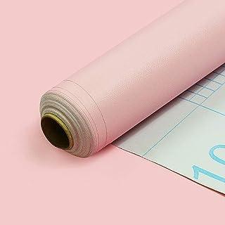 BENQUE 壁紙シール 無地 3D はがせる 防水 ウォールステッカー リメイク 45cm×10M ピンク