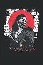 "Samurai giapponese: Notebook a righe da 6 ""x 9"". Quaderno per samurai |Guerriero |Giappone |Combattente |Appunti (Italian ..."