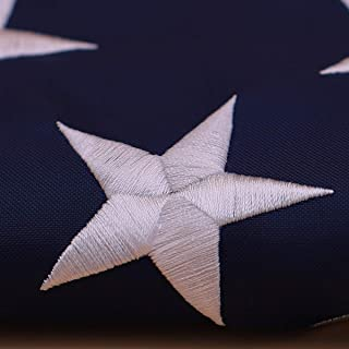 Aniler - American USA US Flag 2.5x4 Ft Embroidered Stars Sewn Stripes Brass Grommets