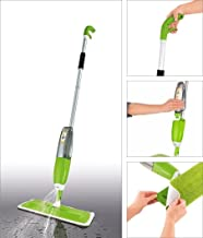 Glive's Spray Mop Aluminium Healthy Spray Mop Floor Cleaning Microfiber Spray Mop - Dry and Wet Cleaning (Spray Mop with Extra 3 Pads)