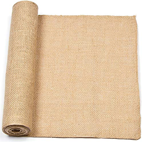 Baker Ross Rollo de arpillera natural para manualidades textiles, decoraciones, collages y modelos (3 x 16 cm)