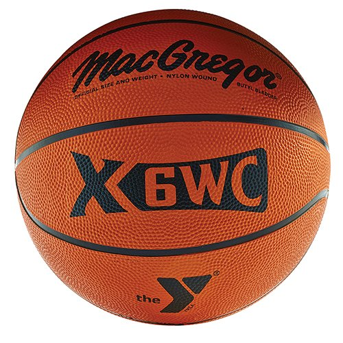 Save %26 Now! MACGREGOR Official Rubber Basketball W/YMCA Logo
