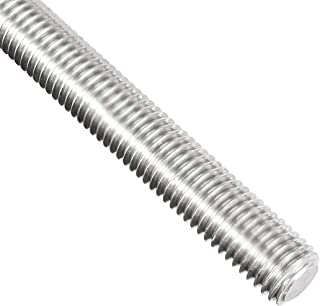 uxcell M14 Fully Threaded Rod, 304 Stainless Steel, 250mm Length, 2.0mm Thread Pitch, Left Hand Threads
