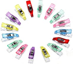 YYSM 50Pcs Colorful Sewing Craft Plastic Clothes Photo Paper Peg Pin Clothespin Craft Clips decorative Stationery Clothes ...