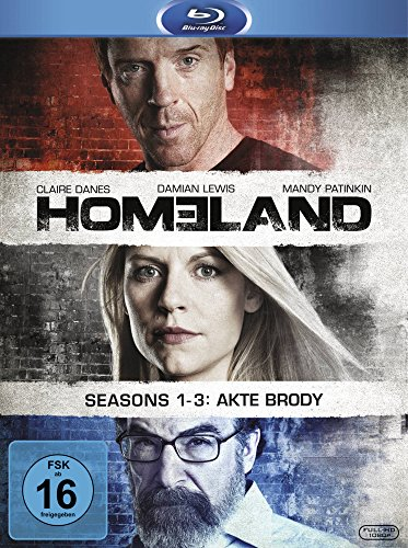 Homeland 1-3 (exklusiv bei Amazon.de) [9 Blu-rays]