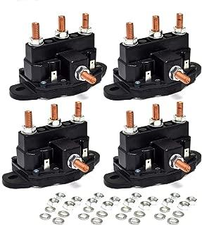 4PK Winch Motor Reversing Solenoid Contactor Relay 6 Terminal Trombetta Style Large