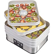 Hamilton Beach 32100A Digital... Hamilton Beach 32100A Digital Food Dehydrator, 5 Tray, Gray