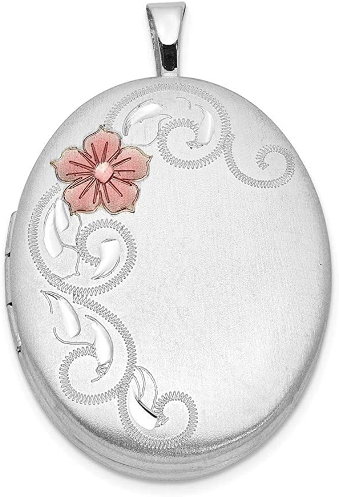 925 Sterling Silver Satin Patterned 2 Holds Engravable 20 Super beauty product restock quality top! online shop photos