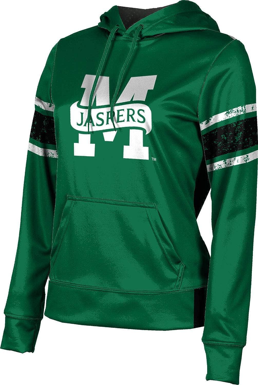 Manhattan College Girls' Pullover Hoodie, School Spirit Sweatshirt (End Zone)