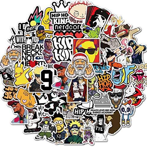 100PCS Funny Hip hop Meme Stickers Laptop DIY Fridge Guitar Motorcycle Luggage Skateboard Cool Graffiti Sticker Decal Kid Toys