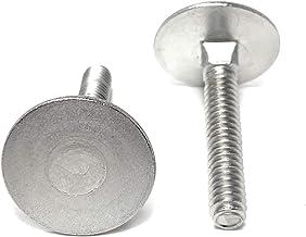 10 7//8 Diameter Head 18-8 1//4-20x2 Stainless Steel Elevator Bolt Square Neck