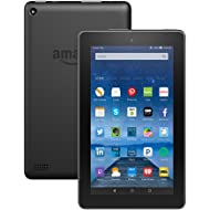 """Fire Tablet with Alexa, 7"""" Display, 8 GB, Black - with Special Offers (Previous Generation - 5th)"""