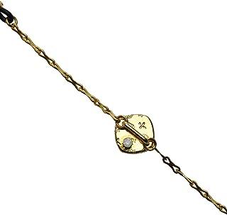 Tamarusan Eyeglass Chain Music Score Note Yellow Gold For Men'S Women'S Unisex