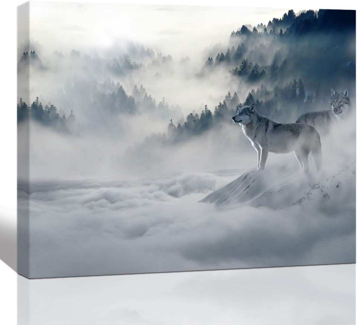 Wildlife Photo Canvas and Metal Print Wall Art Wall Decor Wolf Pup Cute Animal Photography