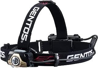 GENTOS(ジェントス) LED ヘッドライト GTシリーズ 【明るさ210-320ルーメン/実用点灯4.5-6時間/後部認識灯/耐塵/耐水】 ANSI規格準拠