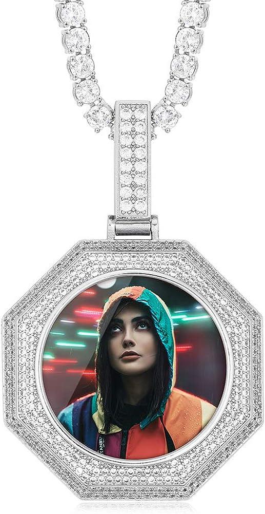 Ranking TOP9 YIMERAIRE Personalized Custom Picture Fashionable Mem Photo Necklace Pendant