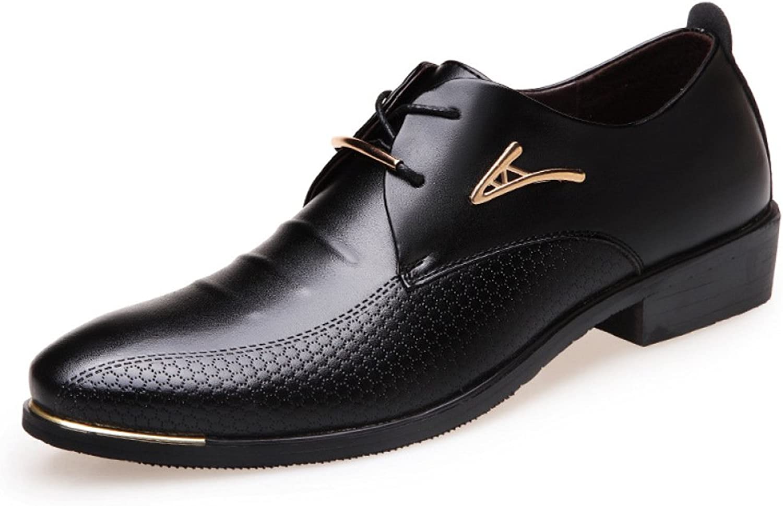 LEDLFIE Men's Business Leather shoes Fashion Dress shoes Casual shoes Work
