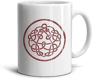 Mawan King-Crimson-Logo- Coffee Mugs Novelty Ceramic Tea Cups 11 oz