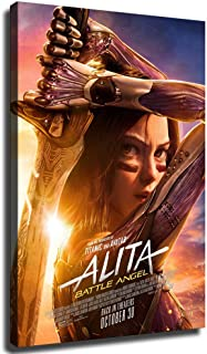 Details about  /Alita Battle Angel Chinese Movie Poster Wall Art Home Decor Print