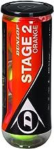 Dunlop Mini Tennis Stage 2 602205 Tennis Ball Yellow / Orange One Size