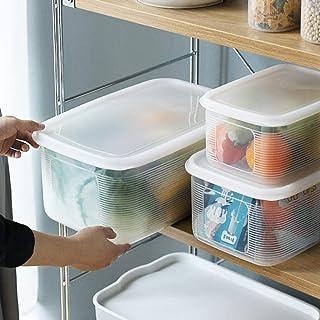 ZYCSKTL Boîte de Rangement pour réfrigérateur pour céréales de Cuisine Boîte de Conservation fraîche pour Fruits et légume...