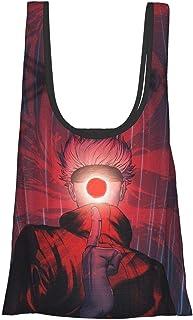 咒术回战 五条悟 (99) 环保袋 折叠 时尚 购物袋 便利店包 人气 大容量 实用 防水 可爱 肩背 轻便 可洗 购物袋