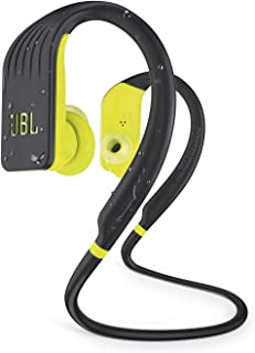 JBL Endurance Jump - Auriculares inalámbricos Bluetooth Deportivos con micrófono, Impermeable, hasta 8 Horas de batería, C...