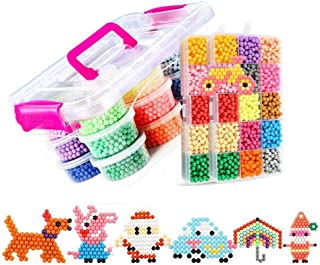 8400 PCS 30 Colores Craft Sticky Beads compatible para Aquab