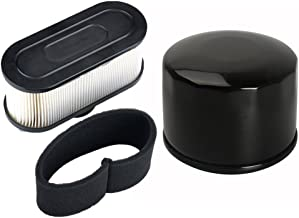 HIFROM Pack of Oil Filter with Air Pre Filter for Kawasaki FR651V FR691V FR730V FS481V FS541V FS600V FS651V FS691V FS730V 4-Cycle Engine
