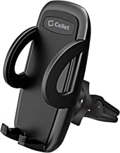 Cellet Smartphone Car Air Vent Phone Mount Holder Cradle Compatible for Apple iPhone Xr Xs Max Xs X SE 8 8 Plus 8+ 7+ 7 Samsung Note 10 9 8 5 Galaxy S10 S9 S8 A6 Motorola Moto z3 G6 e5 LG V50 Stylo
