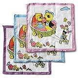 12er Pack Bambini Fazzoletti bambini fazzoletto di stoffa Animali