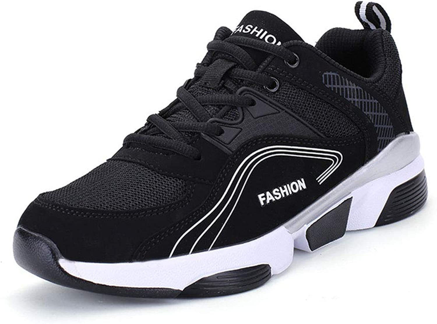 Men's shoes, Low-top Running Breathable Single shoes Spring Fall New Casual Sneakers Comfortable Lace-up Sports shoes
