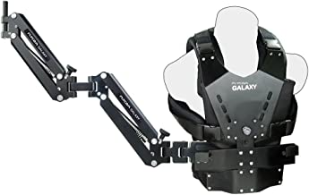 FLYCAM Galaxy Dual Arm and Vest Body Mounted Steadycam For Handheld Stabilizer For Video Camera Camcorder up to 10kg/22lbs (GLXY-AV)