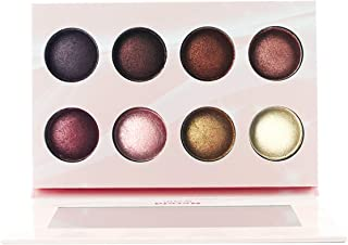 Everfavor Makeup Eyeshadow Palette, Professional 21 Color Baked Eye Shadow Palette with Galaxy Colors (8 Colors, Nude)