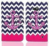 FoneExpert® Microsoft Lumia 550 Handy Tasche, Wallet Hülle Flip Cover Hüllen Etui Ledertasche Lederhülle Premium Schutzhülle für Microsoft Lumia 550 (Pattern 11)
