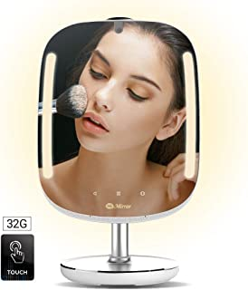 table mirror with led lights