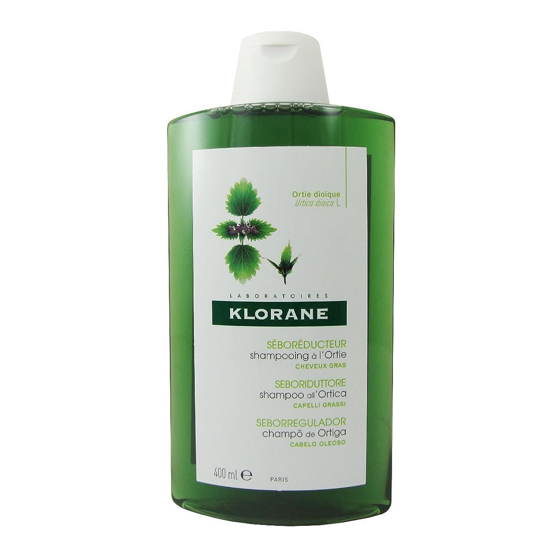 隔離する傾斜ラウズKlorane Oily Hair White Nettle Shampoo 400ml [並行輸入品]