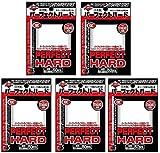 KMC 5 Set Card Barrier Sleeve Perfect Hard from Japan