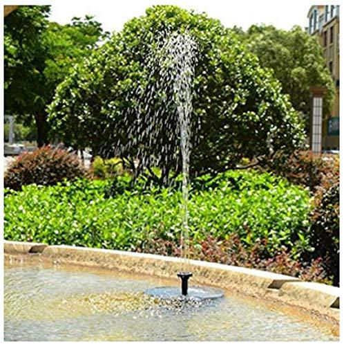 Clearance Solar Powered Bird Bath Water Fountain Pump for Outdoor Pool, Garden, Aquarium (Black)