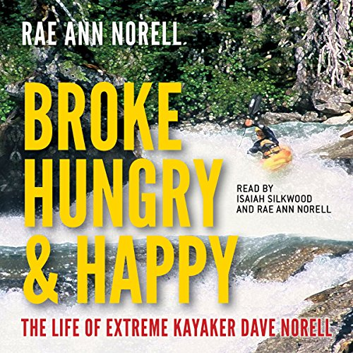 Broke, Hungry, and Happy audiobook cover art