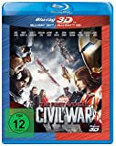 The First Avenger: Civil War [Blu-Ray 3D]