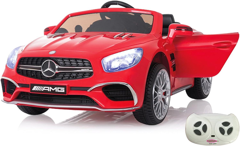 n ° 1 en línea Jamara- Ride on Mercedes SL65 12 V – 2,4 2,4 2,4 GHz, Color Rojo (460294)  compra limitada