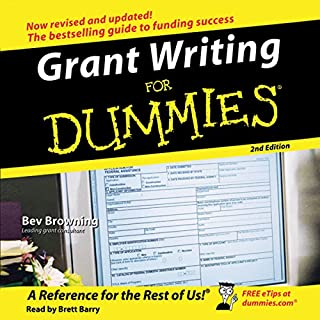 Grant Writing for Dummies, 2nd Edition cover art
