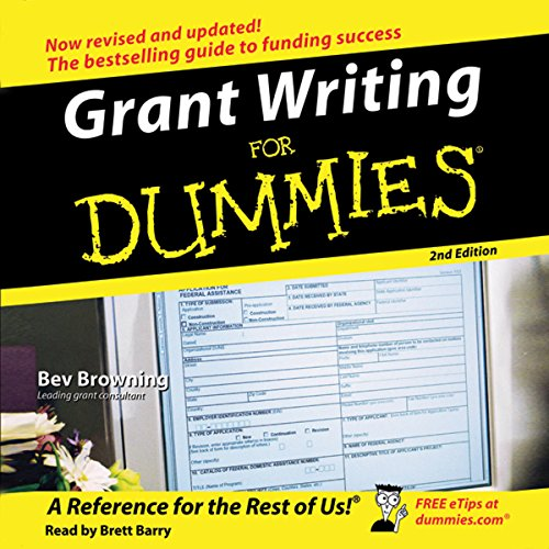 Grant Writing for Dummies, 2nd Edition audiobook cover art