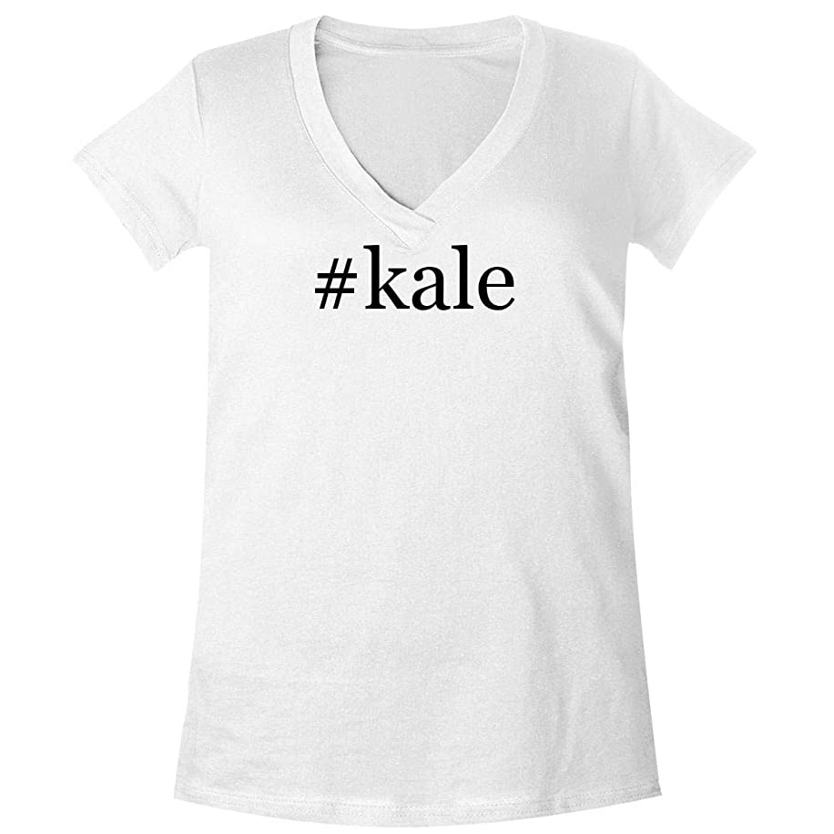 The Town Butler #Kale - A Soft & Comfortable Women's V-Neck T-Shirt