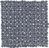 Wenko Alfombra de Ducha Paradisede plástico, Color Antracita, 54x 54x 2cm, 22500100